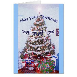 """""""Mayo su navidad…"""" tarjeta especial del amigo"""