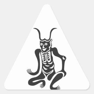 mayoke triangle sticker