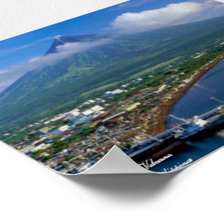Mayon Volcano of ALbay, Philippines Poster