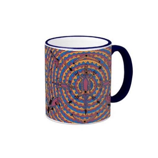Mayoorr - estación del invierno de la trampa de taza de dos colores