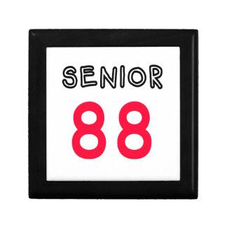 Mayor 88 caja de recuerdo