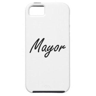 Mayor Artistic Job Design iPhone 5 Case