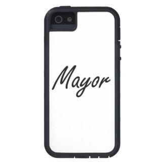 Mayor Artistic Job Design iPhone 5 Covers