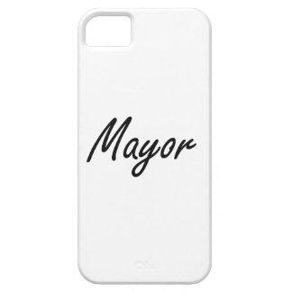 Mayor Artistic Job Design iPhone 5 Cases