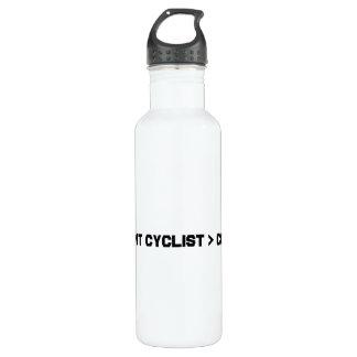 Mayor bici que fresca del ciclista brillante
