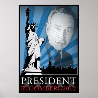 mayor bloomberg for president poster
