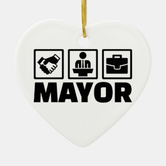Mayor Ceramic Ornament