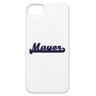 Mayor Classic Job Design iPhone 5 Case