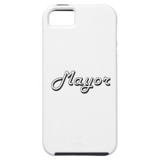Mayor Classic Job Design iPhone 5 Cover