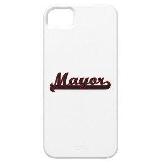 Mayor Classic Job Design iPhone 5 Covers