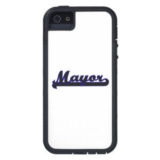 Mayor Classic Job Design iPhone 5 Cases