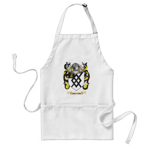 Mayor Coat of Arms (Family Crest) Aprons