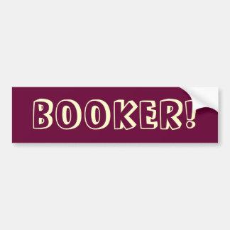 Mayor Cory Booker Bumper Sticker