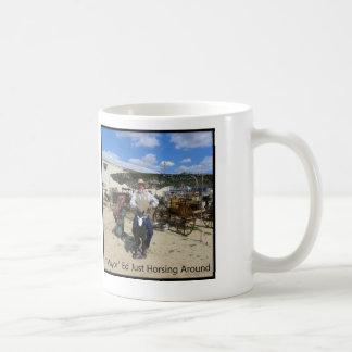 Mayor Ed Just Horsing Around Coffee Mugs