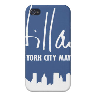 MAYOR HILLARY 2013 -.png iPhone 4 Covers