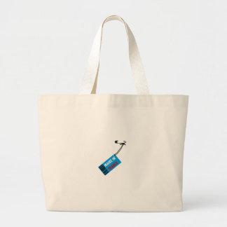 Mayor in France Large Tote Bag