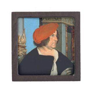 Mayor Jakob Meyer zum Hasen, 1516 (tempera on lime Jewelry Box