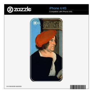 Mayor Jakob Meyer zum Hasen, 1516 (tempera on lime Skin For The iPhone 4
