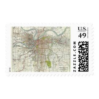 Mayor Kansas City Sello Postal