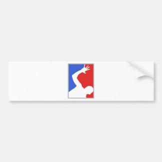 Mayor League man figure! exclusive design! Bumper Sticker