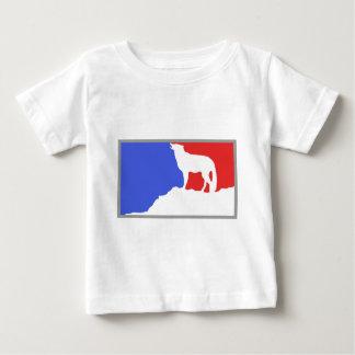 Mayor League Wolf! Baby T-Shirt