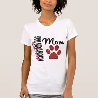 Mayor mamá suiza 2 del perro de la montaña camiseta
