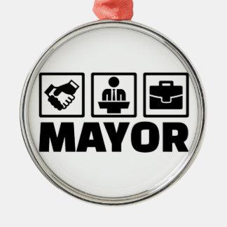 Mayor Metal Ornament