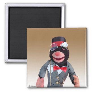 Mayor Mole Magnet