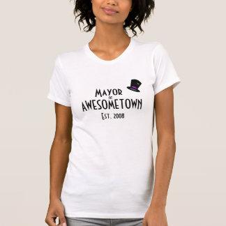 Mayor of Awesometown T-Shirt