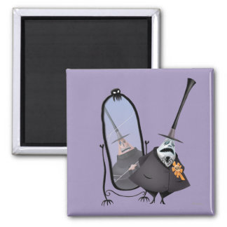 Mayor of Halloween Town 2 2 Inch Square Magnet
