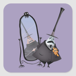 Mayor of Halloween Town 2 Square Sticker