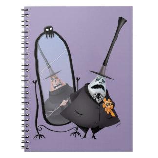 Mayor of Halloween Town   Mirror Notebook