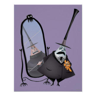 Mayor of Halloween Town | Mirror Poster