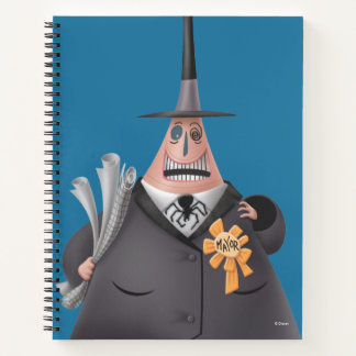 Mayor Of Halloween Town   Smiling Face Notebook