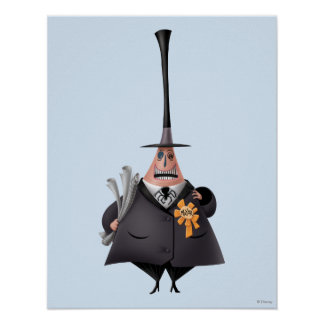 Mayor Of Halloween Town | Smiling Face Poster