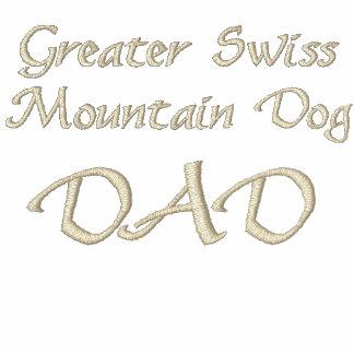 Mayor perro de SwissMountain, regalos del PAPÁ Polo Bordado