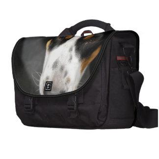 Mayor perro suizo de la montaña bolsa de ordenador