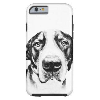 Mayor perro suizo de la montaña funda de iPhone 6 tough