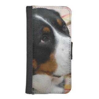 Mayor perro suizo de la montaña fundas tipo cartera para iPhone 5