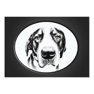 """Mayor perro suizo de la montaña invitación 5"""" x 7"""""""