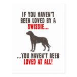Mayor perro suizo de la montaña postales