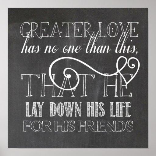Mayor poster de la escritura del amor