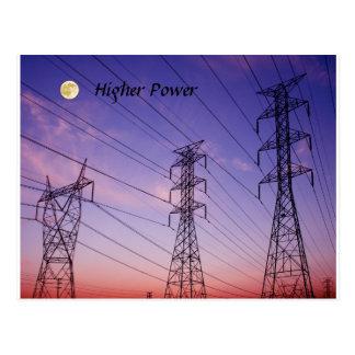 Mayor potencia 3 tarjeta postal