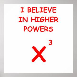 mayor potencia poster