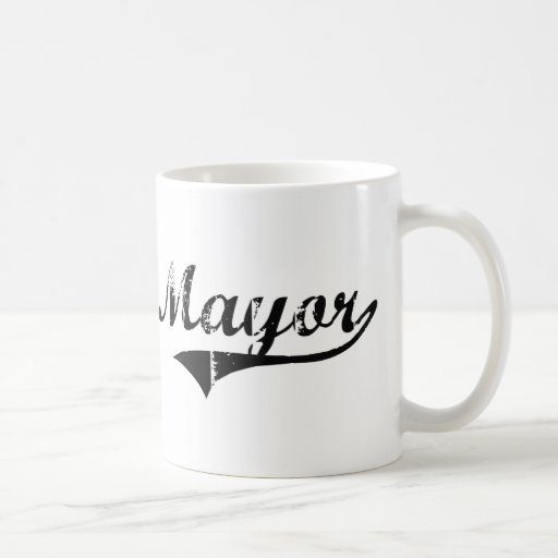 Mayor Professional Job Coffee Mug