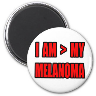 Mayor que mi melanoma imanes de nevera