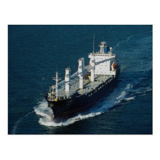 Mayor self-loading freighter postcard