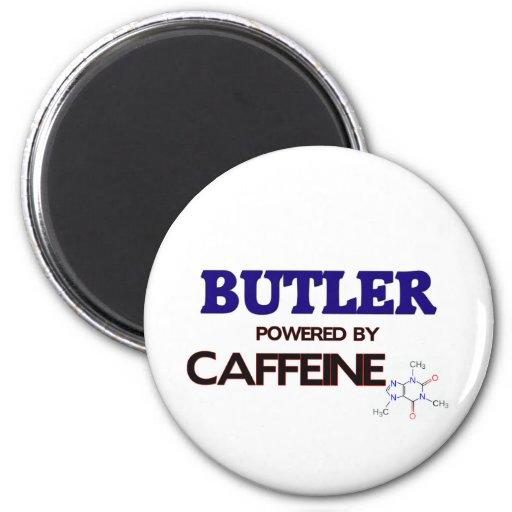 Mayordomo accionado por el cafeína imán redondo 5 cm