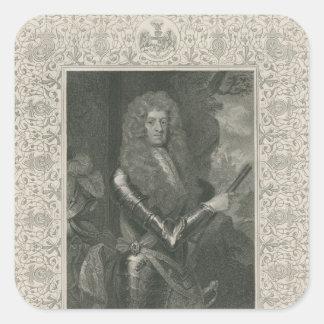 Mayordomo de James, 12mo conde y 1r duque de Pegatina Cuadrada