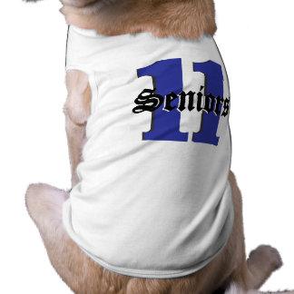 Mayores 2011 camisas de mascota